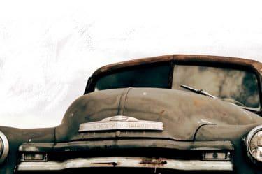 Immagine di un auto vecchia che qualche decennio fa era considerata innovativa. L'immagine rimanda all'instabilità della conoscenza