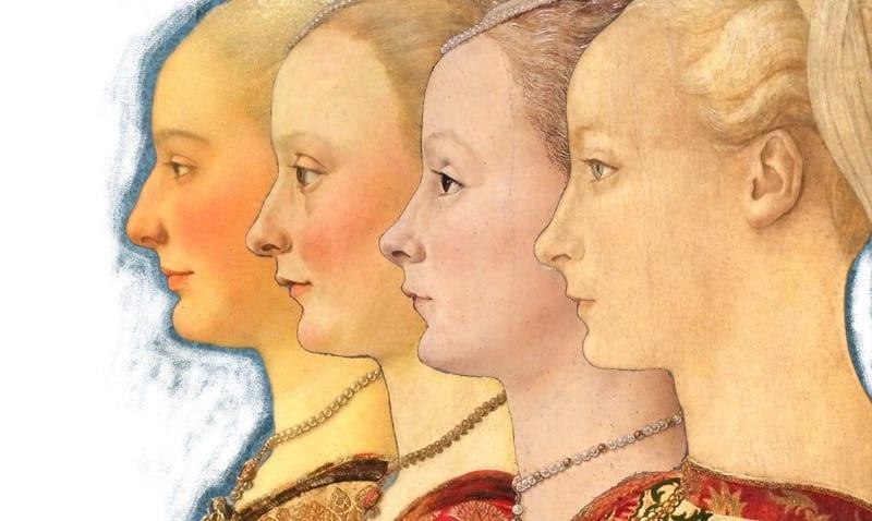 I volti 4 donne che richiamano al desiderio e al bisogno