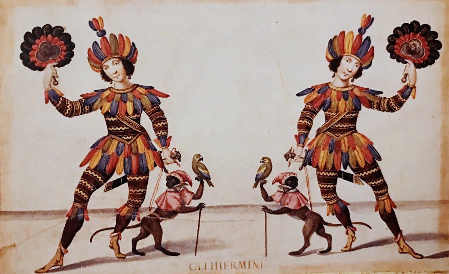 Foto di circo con degli animali ai margini della propria vita poiché si trovano a subire delle scelte dei propri padroni