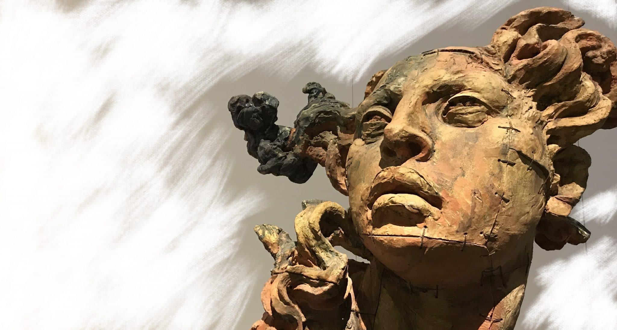 statua di un eroe antico