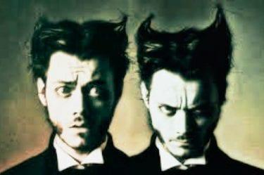Il doppio: l'immagine rappresenta dottor jekyll e mister hyde il simbolo della doppia personalità